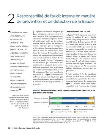 Faire face au risque de fraude page 12