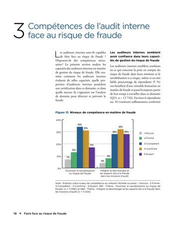 Faire face au risque de fraude page 18