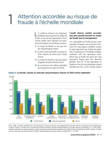 Faire face au risque de fraude page 7