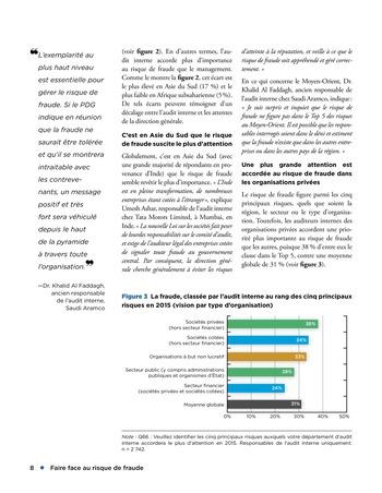 Faire face au risque de fraude page 8
