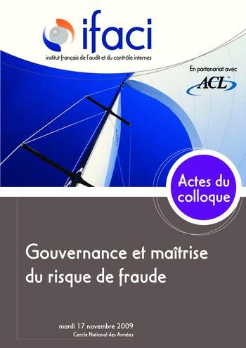 Gouvernance et maîtrise du risque de fraude page 1