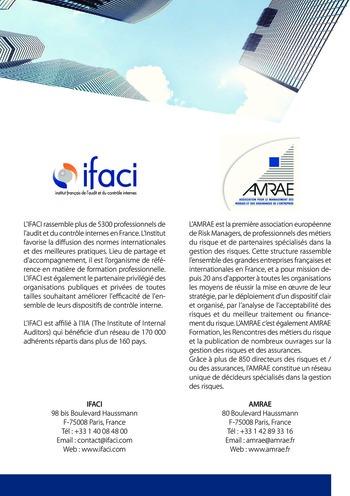 Trois lignes de maîtrise pour une meilleure performance / AMRAE, IFACI page 16