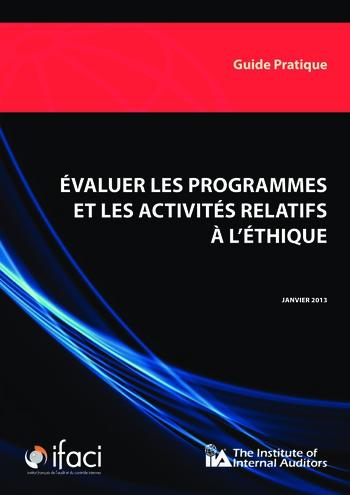 Evaluer les programmes et les activités relatifs à l'éthique page 1