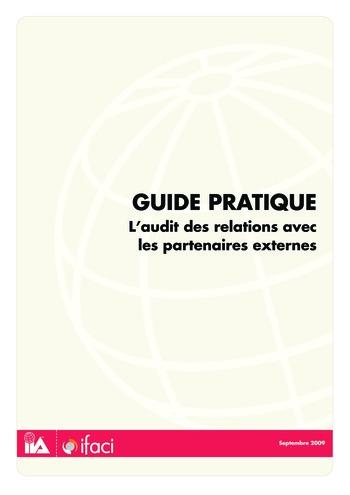 L'audit des relations avec les partenaires externes page 1