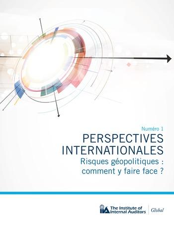 Perspectives internationales - Risques géopolitiques : comment y faire face? page 1