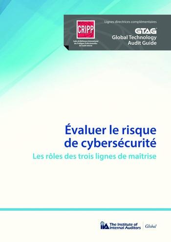 Evaluer le risque de cybersécurité - Le rôle des trois lignes de maîtrise page 1