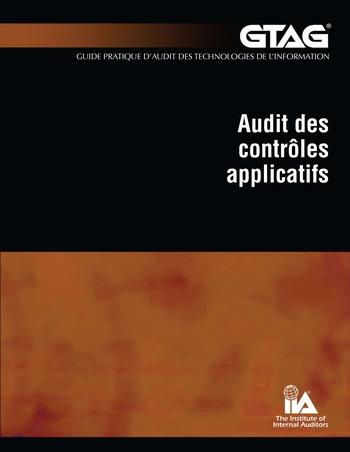 Audit des contrôles applicatifs page 1
