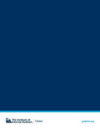 Perspectives internationales - Cadre de référence IIA pour l'audit de l'intelligence artificielle Partie B page 10