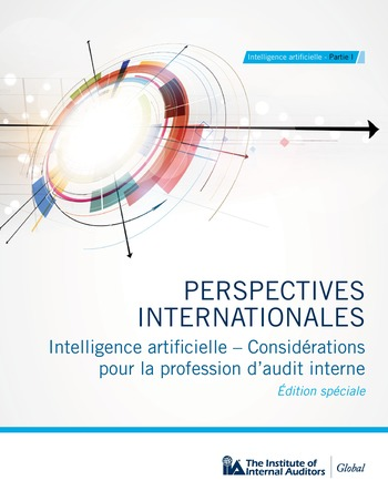 Perspectives Internationales - Intelligence artificielle : quelles considérations pour l'audit interne ? page 1