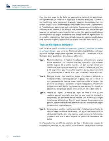 Perspectives Internationales - Intelligence artificielle : quelles considérations pour l'audit interne ? page 6