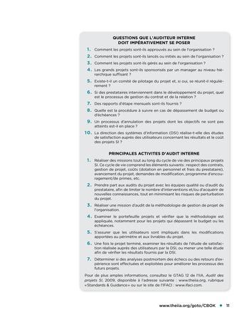 Surfer sur les SI - Le Top 10 des risques SI page 11
