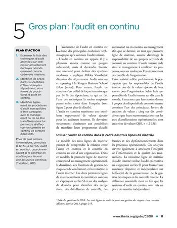 Garder une longueur d'avance page 11
