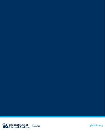 Perspectives internationales - L'audit interne, conseiller digne de confiance en cybersécurité page 17