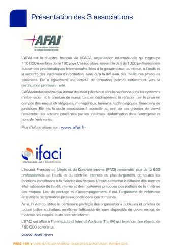 Guide d'évaluation d'un système SAP pour l'audit interne / AFAI, IFACI, USF page 165