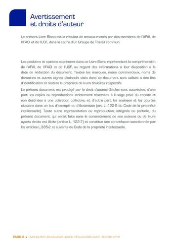 Guide d'évaluation d'un système SAP pour l'audit interne / AFAI, IFACI, USF page 3
