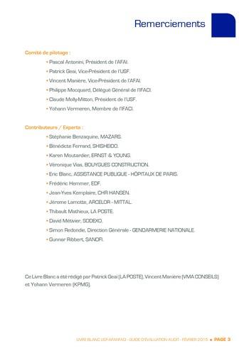 Guide d'évaluation d'un système SAP pour l'audit interne / AFAI, IFACI, USF page 4