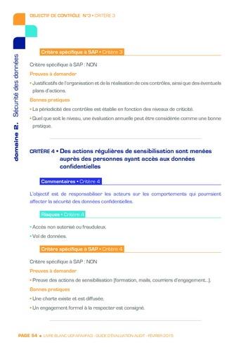 Guide d'évaluation d'un système SAP pour l'audit interne / AFAI, IFACI, USF page 55