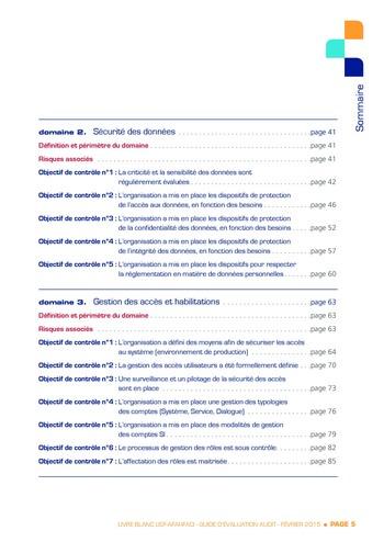 Guide d'évaluation d'un système SAP pour l'audit interne / AFAI, IFACI, USF page 6