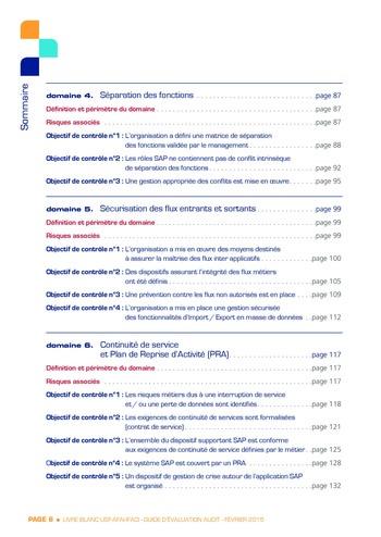 Guide d'évaluation d'un système SAP pour l'audit interne / AFAI, IFACI, USF page 7