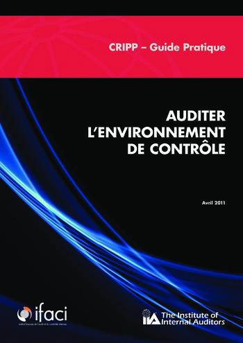 Auditer l'environnement de contrôle page 1