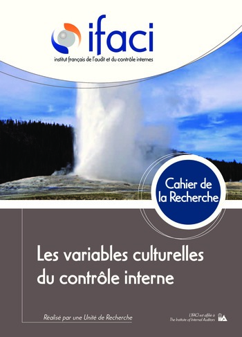 Les variables culturelles du contrôle interne page 1