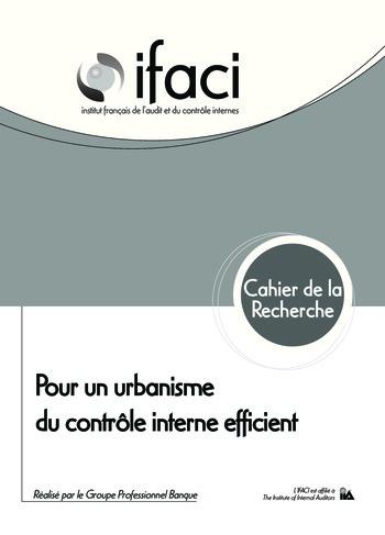 Urbanisme du contrôle interne - Banque page 1