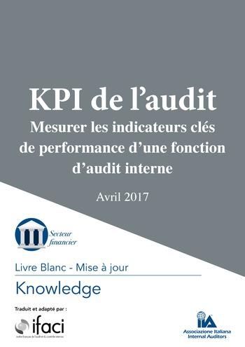 KPI de l'audit : Mesurer les indicateurs clés de performance d'une fonction d'audit interne / IIA Italy page 1