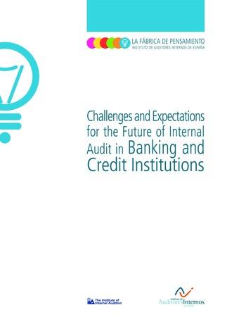 Enjeux et attentes concernant l'audit interne dans les banques et les établissements de crédit / IIA Spain page 1