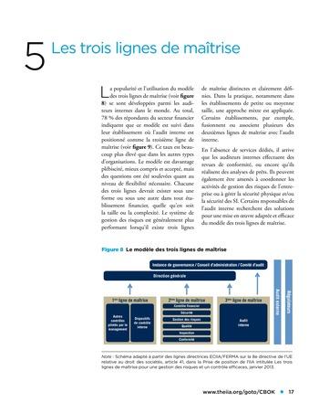Panorama de l'audit interne dans les établissements financiers page 17
