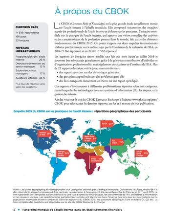 Panorama de l'audit interne dans les établissements financiers page 2