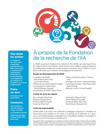 Panorama de l'audit interne dans les établissements financiers page 24