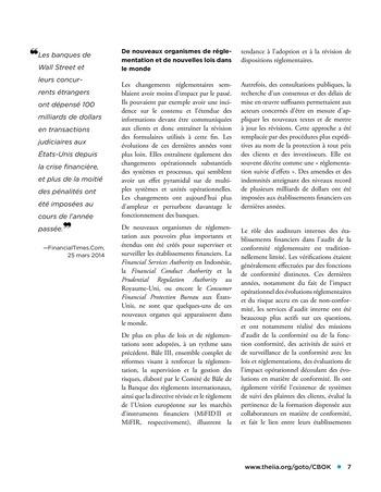Panorama de l'audit interne dans les établissements financiers page 7