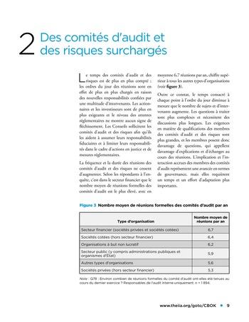 Panorama de l'audit interne dans les établissements financiers page 9