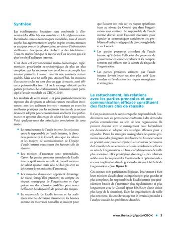 Viser l'excellence dans les missions d'assurance, la prise en compte des risques stratégiques et plus encore page 3