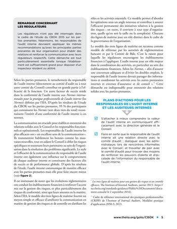 Viser l'excellence dans les missions d'assurance, la prise en compte des risques stratégiques et plus encore page 5