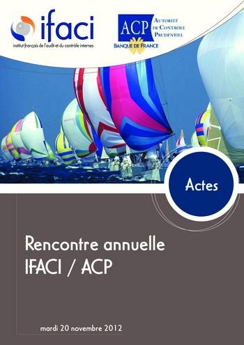 Réunion annuelle ACP/IFACI 2012 - Actes page 1