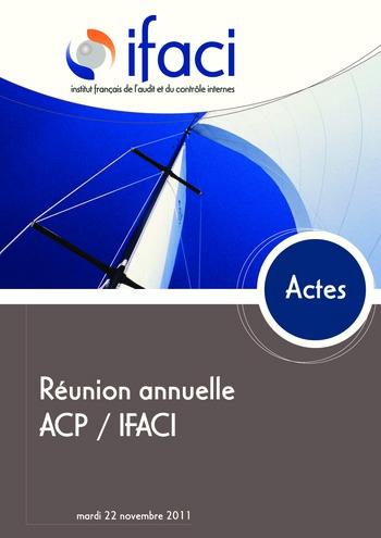 Réunion annuelle ACP/IFACI 2011 - Actes page 1