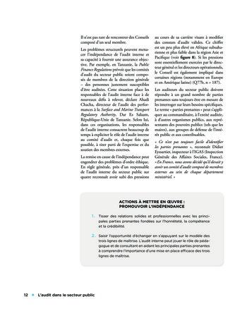 L'audit dans le secteur public page 12