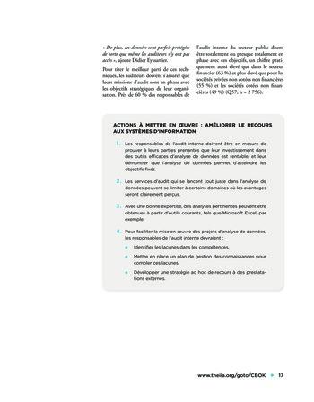 L'audit dans le secteur public page 17