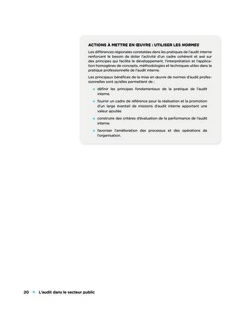 L'audit dans le secteur public page 20