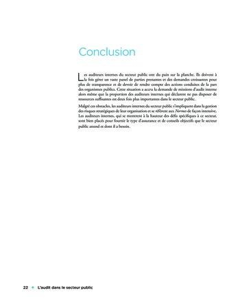 L'audit dans le secteur public page 22