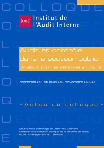 Audit et contrôle dans le secteur public : un atout pour les réformes en cours page 1