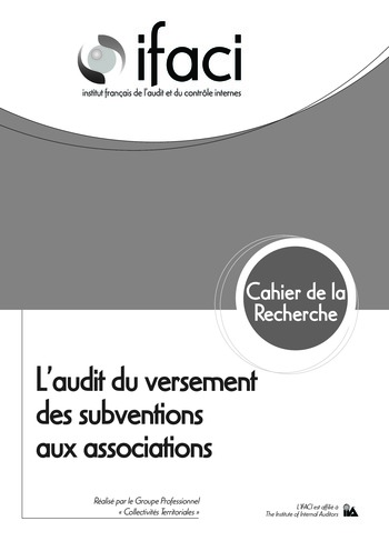 L'audit du versement des subventions aux associations page 1