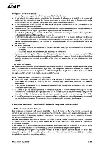 Cadre de référence des dispositifs de gestion des risques et de contrôle interne page 25