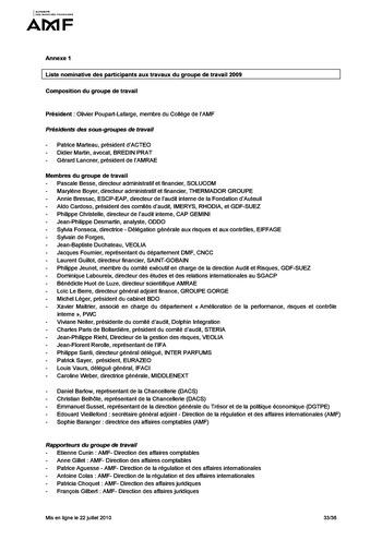 Cadre de référence des dispositifs de gestion des risques et de contrôle interne page 33