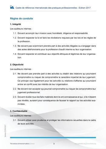 Code de déontologie page 3