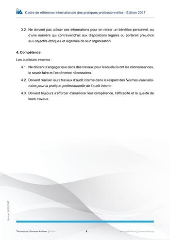Code de déontologie page 4