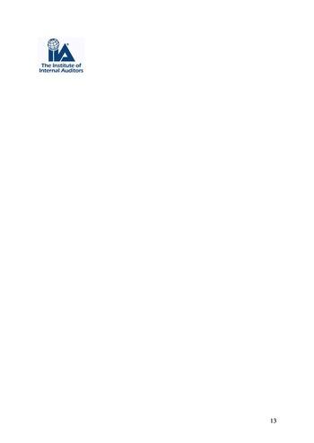 Prise de position - Le rôle de l'audit interne dans le management des risques de l'entreprise /IIA page 13