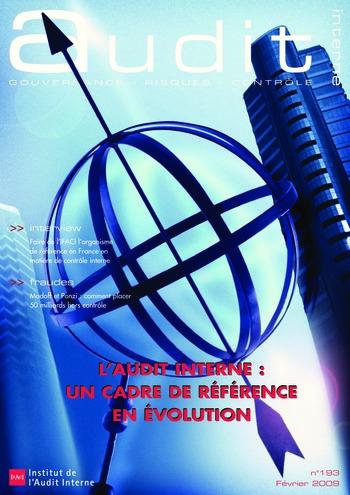 N°193 - fév 2009 L'audit interne : un cadre de référence en évolution page 1