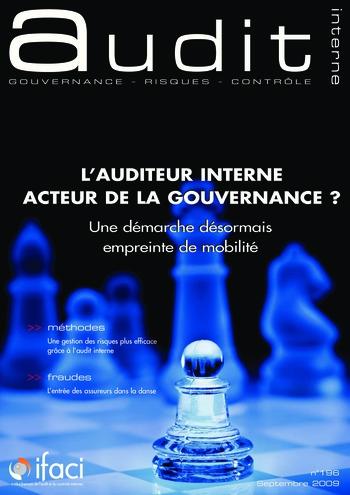 N°196 - sept 2009 L'auditeur interne acteur de la gouvernance ? page 1
